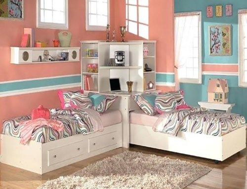 نکاتی برای تزیین اتاق خواب مشترک با خواهر/برادر
